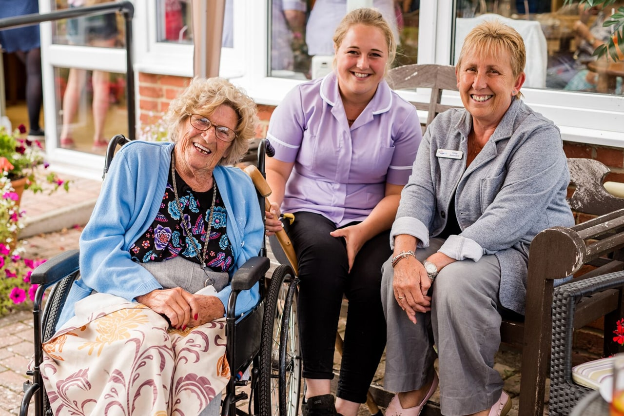 care home in hampshire