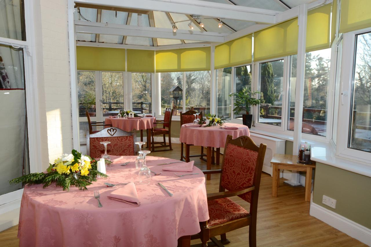 Conservatory at Allenbrook Care Home Fordingbridge